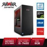 PC Gamer Rawar RW255PVM INTEL I5 7400 8GB (Geforce GTX1060 de 6GB) 1TB