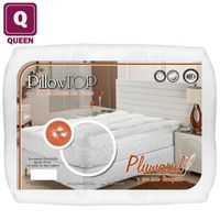 Pillow Top Queen Plumasul Pluma de Ganso