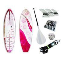 Prancha Soul Fins Stand Up Paddle Floral2 100 + Acessórios