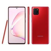 Smartphone Samsung Galaxy Note 10 Lite SM-N770/1DL Desbloqueado GSM 128GB Android 10.0 Vermelho