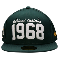 Boné New Era 5950 MLB Tradition Founded Oakland Athletics