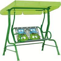Cadeira de Balanço Infantil Mor Gatoons Verde