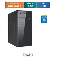 Computador Desktop Easypc 6314 Core I5 3.2GHz 8GB 1TB Windows 10