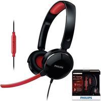 Fone de Ouvido Philips Headset com Fio SHG7210 Preto