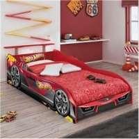 Cama Infantil Hot Wheels Plus com Aerofólio Pura Magia