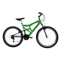 Bicicleta Kanguru Gt Aro 26 Full Suspension 21 Marchas Stone Bike Verde