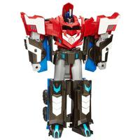 Boneco Hasbro Transformers Mega Robots In Disguise 3-Step Optimus Prime