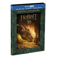 O Hobbit - A Desolação de Smaug Edição Estendida Blu-Ray 3D + Blu-Ray + Cópia Digital - Multi-Região / Reg.4