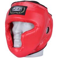 Protetor de Cabeça Punch sem Grade Vermelho