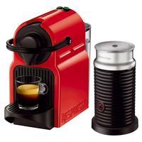 Cafeteira Expresso Nespresso Combo Inissia Ruby Red & Aeroccino Vermelha