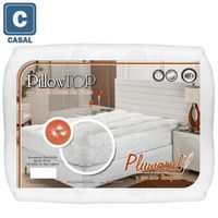 Pillow Top Casal Plumasul Pluma de Ganso