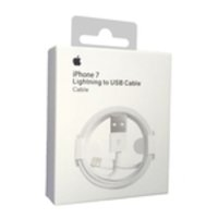 Cabo Usb Carregador Apple Iphone 5 6 6s 7 8 7 Plus 8 Plus X Xs Xr Xs Max Branco 1m