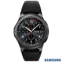 Smartphone Samsung Galaxy S8 SM-G950F 64GB Desbloqueado Dual Chip Android 7.0 Prata + Gear S3 Frontier Samsung Preto