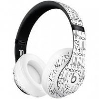 Fone de Ouvido Bluetooth Beats - Neymar Jr. Custom Edition com Microfone Branco