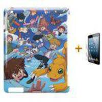 Kit Capa Case Tpu Ipad 2/3/4 Digimon Adventure Tri (bd01)