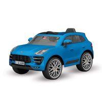 Porsche Macan Azul Elétrico 12v Rádio Controle Bandeirante 2637