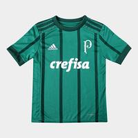 Camisa Palmeiras Infantil I 17 18 s nº Torcedor Adidas - Unissex ... 18fe50c50109e