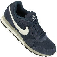 Tênis Nike Md Runner 2 Masculino Azul Marinho Cinza e Branco