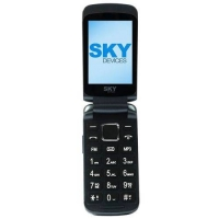Celular Sky Devices SKY Flip Desbloqueado Dual Chip 32MB Azul Escuro