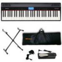 Piano Roland Go:Piano Go:61P Bluetooth C/fonte + Acessórios