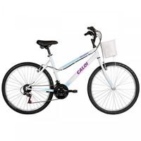Bicicleta Caloi Aro 26 21 Marchas Ventura Branca