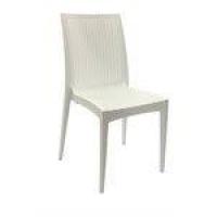 Cadeira Rattan Mobitaly - Branca