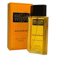 Masculin Equateur Bourjois de Eau Toilette Perfume Masculino 100ml