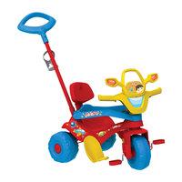 Triciclo Infantil Com Empurrador Bandeirante Motoban Colorido 850