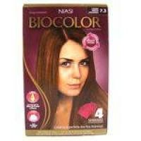 Tintura Biocolor Kit Creme Louro Médio Dourado 7.3