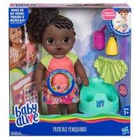 Boneca Baby Alive Hasbro Primeiro Peniquinho Negra E0304
