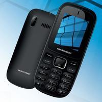 Celular Multilaser P9017 Desbloqueado GSM 3G Dual Chip Preto