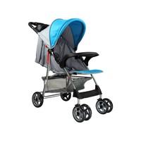 Carrinho de Bebê Passeio Baby Style Esmeralda Reclinável para Crianças até 15kg Azul