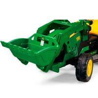 Mini Trator Elétrico John Deere Ground Loader Peg-Pérego 12V