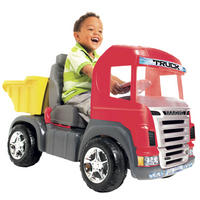 Caminhão a Pedal Big Truck Magic Toys