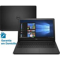 Notebook Dell Inspiron I15 5566 a30p Intel Core 7 I5 4gb 1tb 15.6 Windows 10 Preto