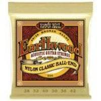 Encordoamento Para Violão Nylon Ernie Ball Earthwood Bronze 80/20 2069
