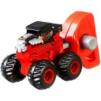 Lançador e Mini Veículo Mattel Hot Wheels Monster Trucks Bone Shaker