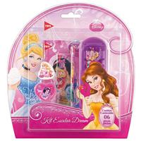 Kit Escolar Dream Set Tris Princesas 637020 6 Peças