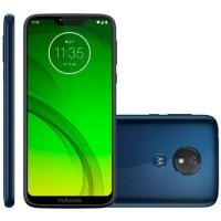 Smartphone Motorola Moto G7 Power XT1955-1 Desbloqueado 32GB TV Digital Android 9.0 Pie Azul Navy
