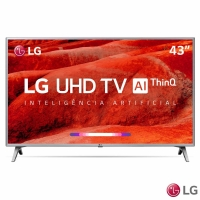 Smart TV 4K LG LED 43'' 43UM7500PSB