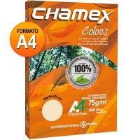 Papel Sulfite International Paper A4 Chamex Colors Marfim 500 Folhas