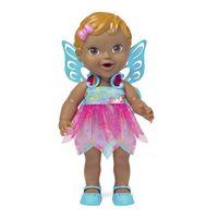 Boneca Baby Collection Fada 301 Super Toys Azul