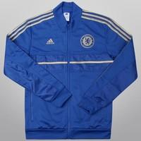 Jaqueta Adidas Chelsea Hino Masculina Azul  9158363336b5f