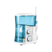Irrigador Oral Multilaser Clearpik Portable HC038 Branco e Azul