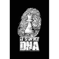 Es Ist in Meiner DNA: Notizbuch Für Schachspieler Schachspieler Schach-Fan A5 Dotted Punktraster Bullet Journal
