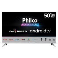 Smart TV 4K 50 Philco LED Ultra HD PTV50G71AGBLS