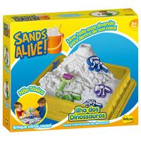 Massinhas Yellow Sands Alive Caixa Dino