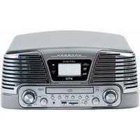 Toca Discos CTX Harmony com CD Player 10W Titanium