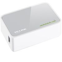 Switch TP-Link TL-SF1005D Fast Ethernet 10/100Mbps Plug and Play 5 Portas