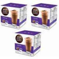 Nescafé Dolce Gusto MOCHA Kit com 03 CAIXAS Total 48 Cápsulas Chocolate